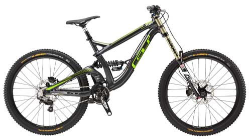 2015 GT Fury Expert downhill mountain bicycle
