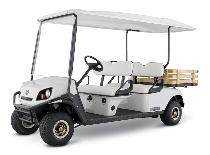 Cushman Shuttle vehicle