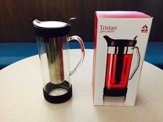 Recalled Tristan glass pitcher