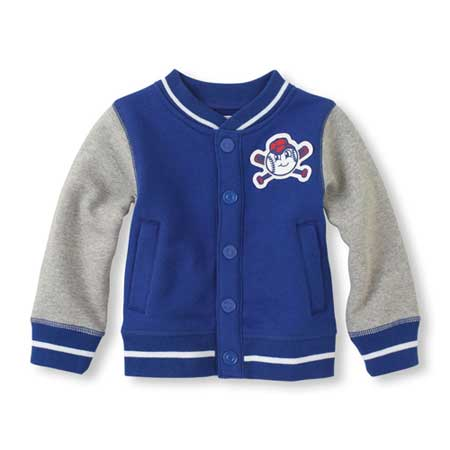 Recalled Children's Place varsity jacket