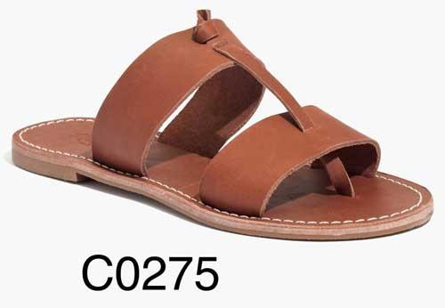 Sightseer Knotted Slide Sandal