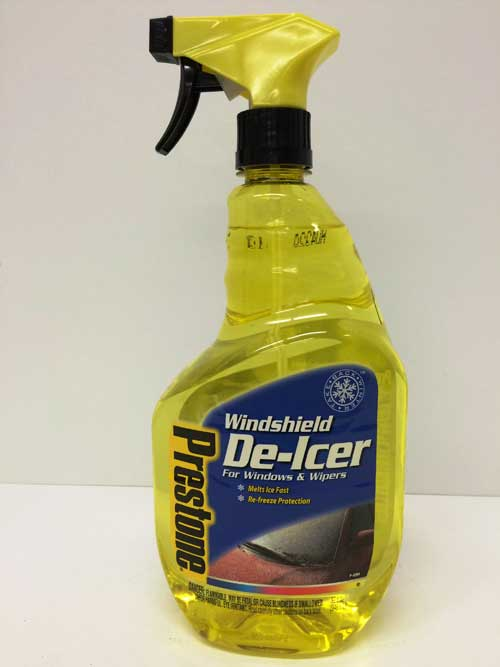 Prestone Windshield De-Icer