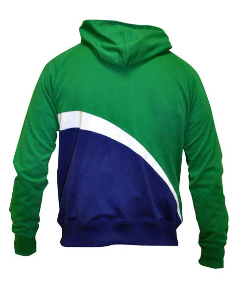 Croker Kids Ireland Sports Hoodie (back)