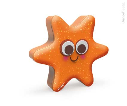 Starfish game container