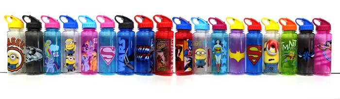 26-Ounce Zak Designs water bottles