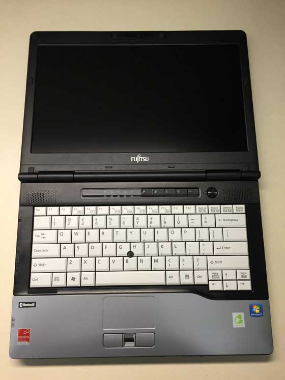 LIFEBOOK S752 notebook computer