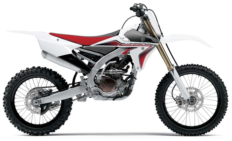 Yamaha 2015 model YZ250FFW