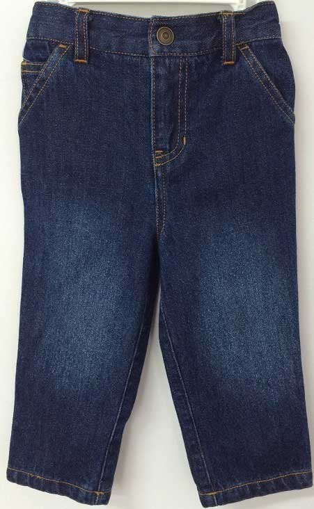 Golden Horse children's denim pants