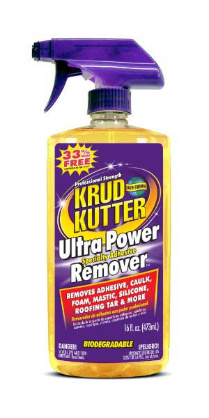 Krud Kutter® Ultra Power Specialty Adhesive Remover (16 oz. spray)