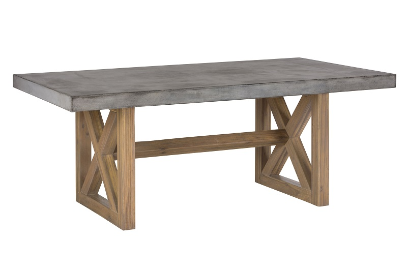 "Boulder Ridge Rectangular 78""Dining Room Table"