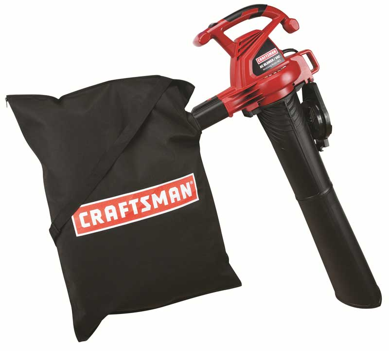 Recalled Craftsman blower/vac with mulch bag