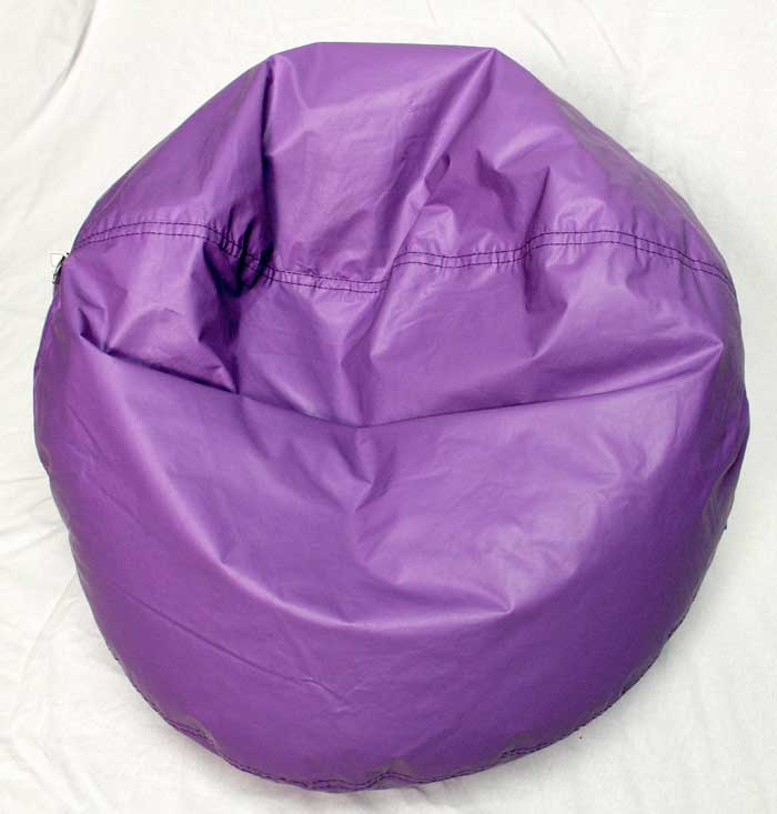 Foam beads inside the recalled Ace Bayou bean bag chair