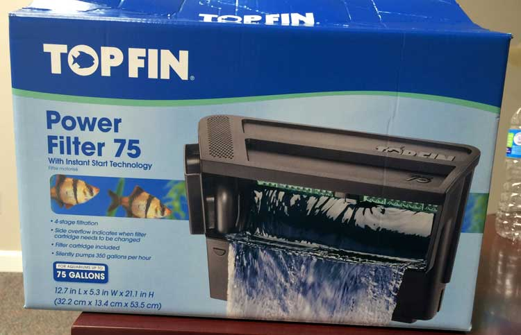 Top Fin™ Power Filter 75