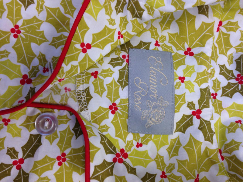 Eleanor Rose sewn-in tag
