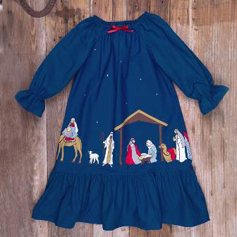Silent Night gown