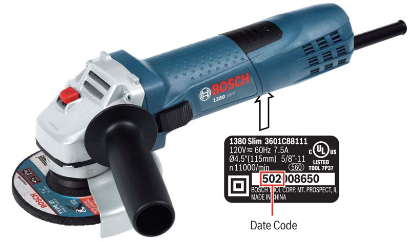 image of Bosch small angle grinders