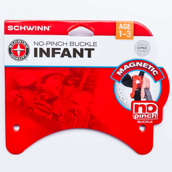 Pacific Cycle Magnetic No-Pinch Buckle infant bicycle helmets