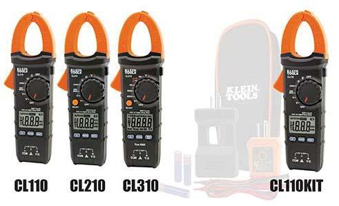 image of Digital clamp meters