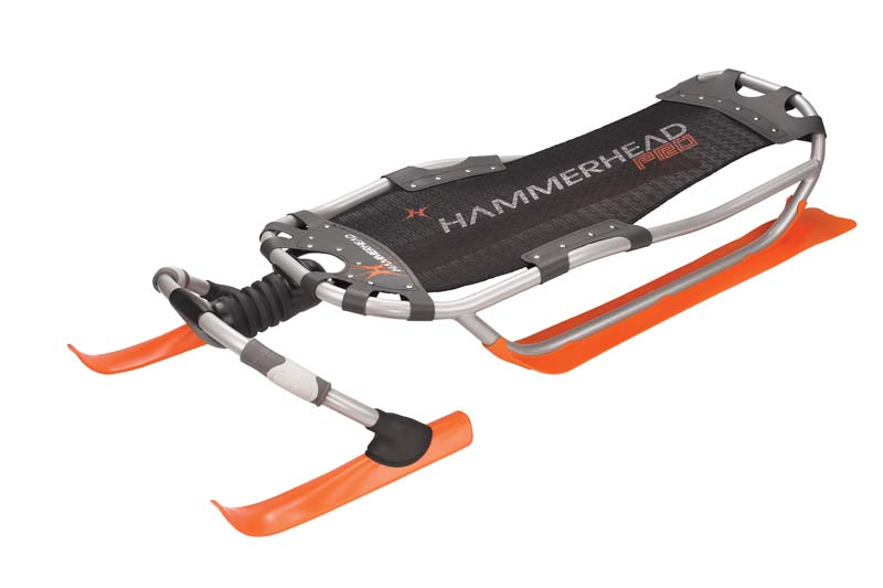 Orange Hammer Head Sled