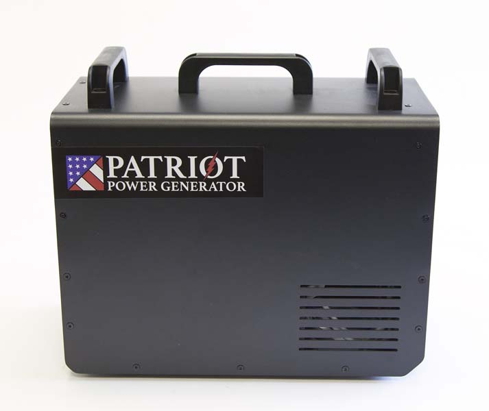 Patriot Power Generator (side view)