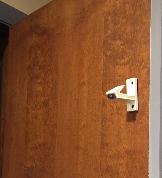 Porta Inc. molded plastic EMDL latch