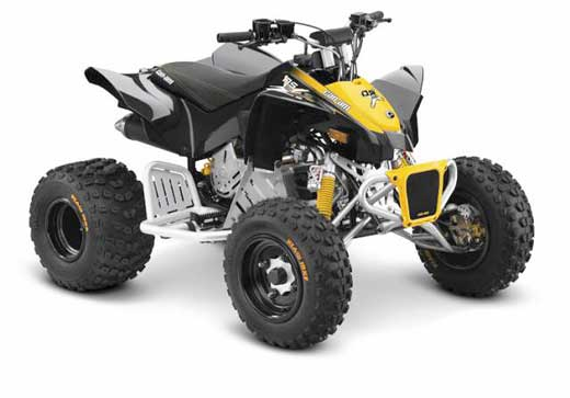 Recalled Can-Am DS 90X model