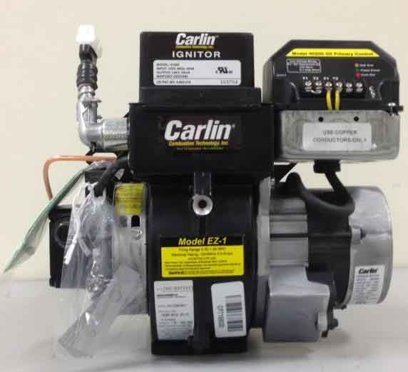 carlin combustion burner