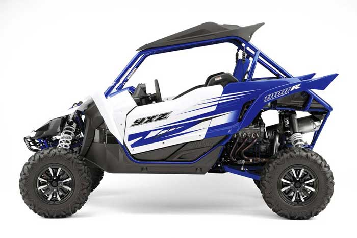 YXZ100R Blue and White