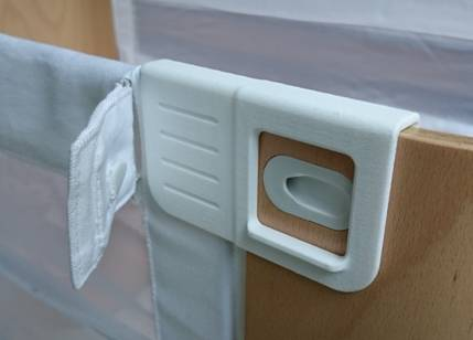 The Bednest new locking clip