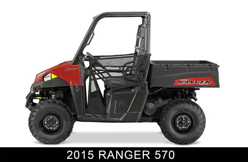 Recalled Polaris 2015 Ranger 570 ROV