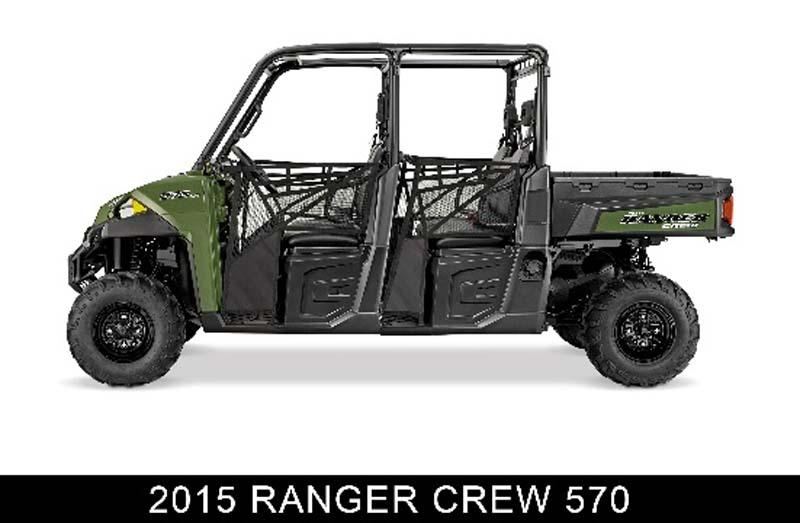 Recalled Polaris 2015 Ranger Crew 570 ROV