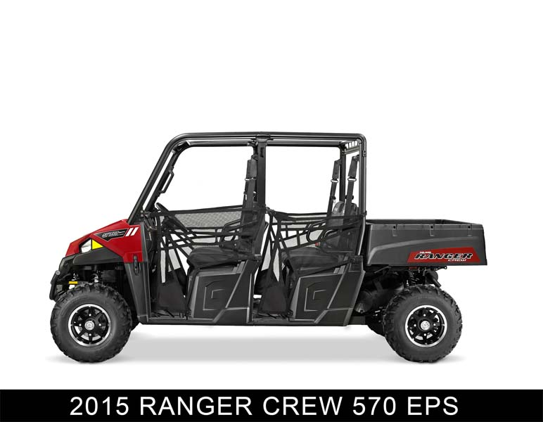 Recalled Polaris 2015 Ranger Crew 570 EPS ROV