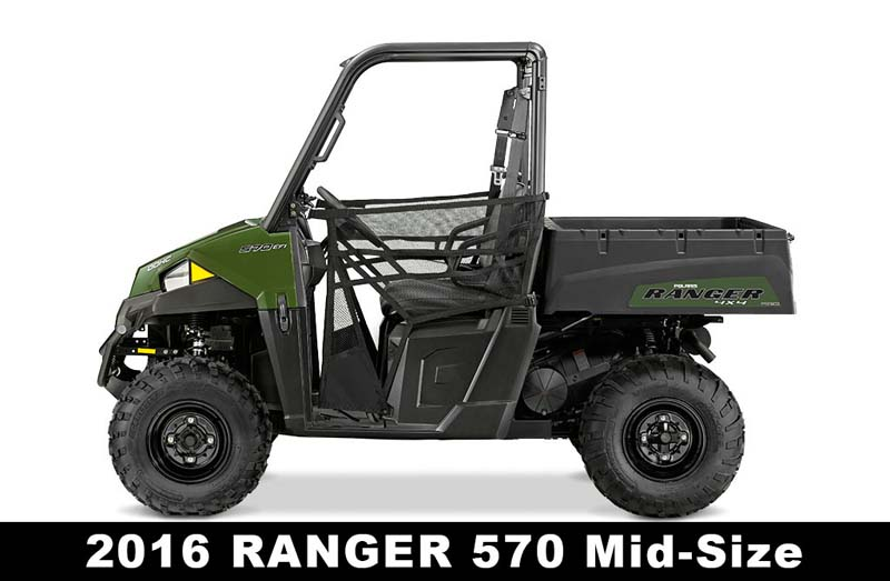 Recalled Polaris 2016 Ranger 570 ROV