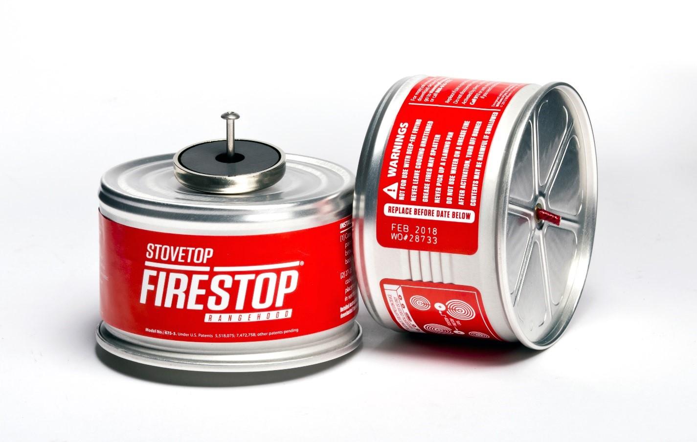 Recalled  StoveTop FireStop Rangehood model number 675-3D