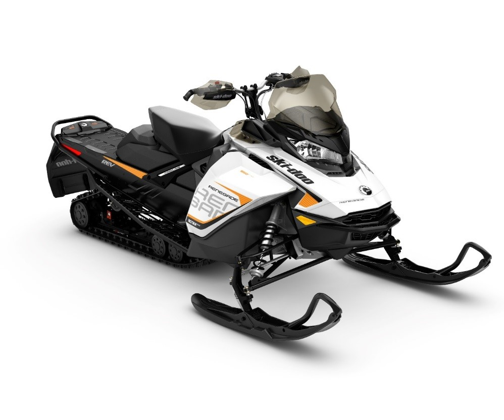 image of 2017 Ski Doo MXZ, Summit and Renegade snowmobiles and 2018 MXZ and Renegade snowmobiles
