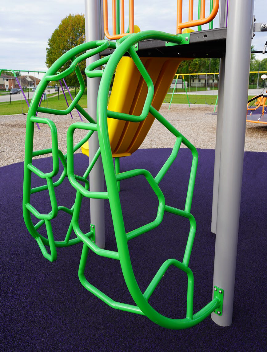 Recalled BCI Burke Merge Playground Climber