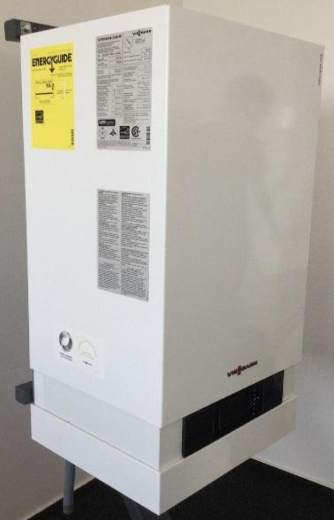 Recalled Viessmann Vitodens 200-W wall mount boiler