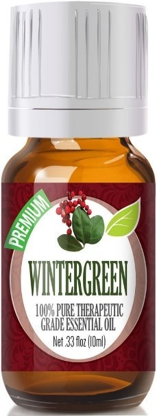 image of Healing Solutions Wintergreen and Birch 100 percent Pure Therapeutic Grade Essential Oils