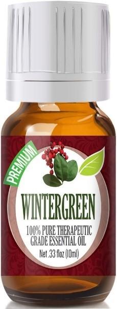 Recalled bottle of Wintergreen essential oil