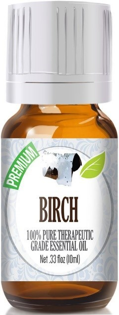 Recalled bottle of recalled Birch essential oil