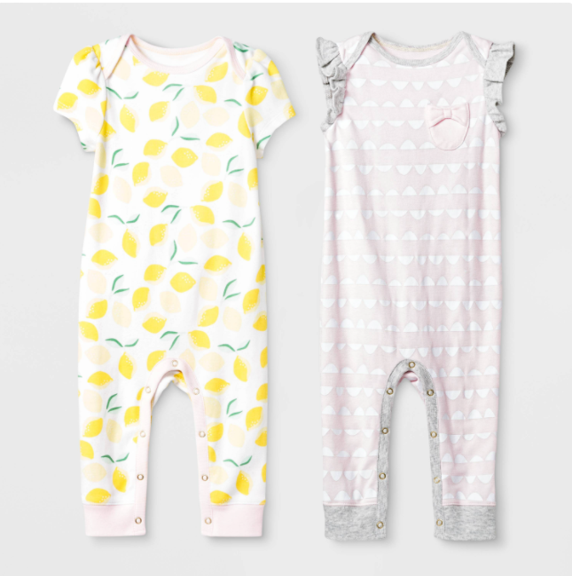 Recalled Cloud Island Oh Honeybee and Pink Rompers