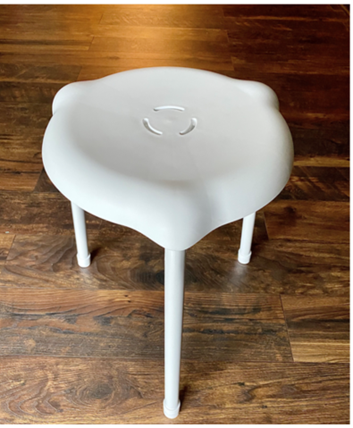 Recalled Target Room Essentials Shower Stool – front view