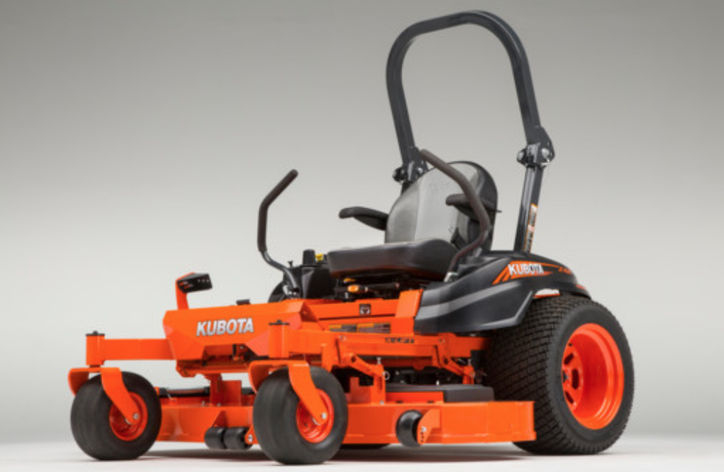 Recalled Kubota Z400 Zero Turn Mower