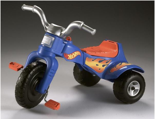 J72633 Hot Wheels Trike