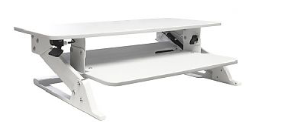 Recalled Sit-Stand Office Workstation (White)