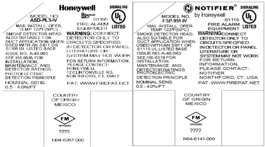 Honeywell Recalls Gamewell-FCI and Notifier Photoelectric Smoke