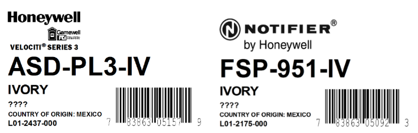 Honeywell Recalls Gamewell-FCI and Notifier Photoelectric Smoke