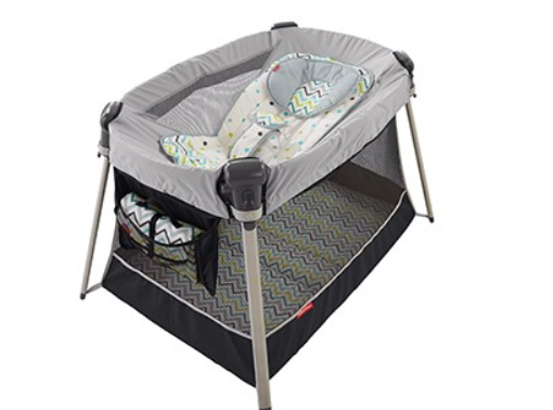 Ultra-Lite Play Yard with Inclined sleeper
