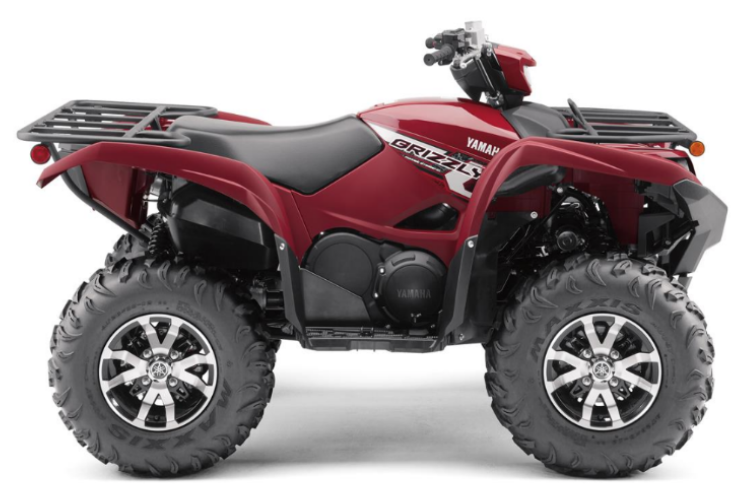 Recalled Grizzly 700 ATV (Model YFM70G)