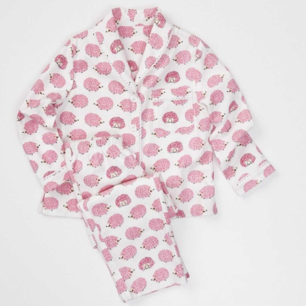 Recalled hedgehog pajama set